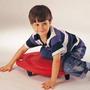 滑板游戏在自闭症感统训练中的作用,你造吗?