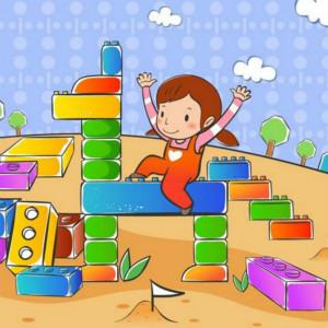 自闭症孩子仿搭积木的好处和训练方法