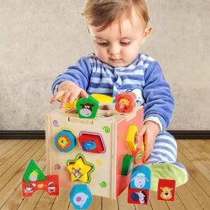 自闭症配对训练之三:分类、不同、数量和抽象事物