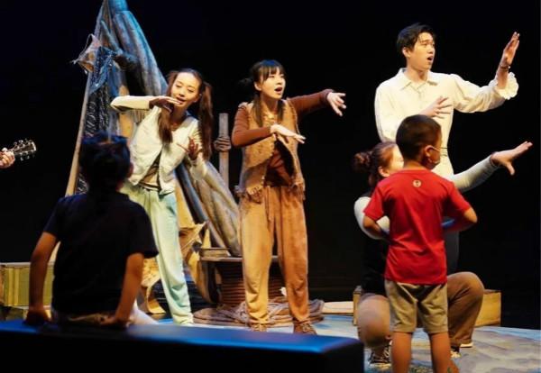 上海儿童艺术剧场上演自闭症儿童沉浸式戏剧